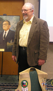 Photo of Charles Keltner-Shanks at the 2007 NLL Annual Meeting