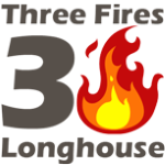 Three Fires Longhouse Logo
