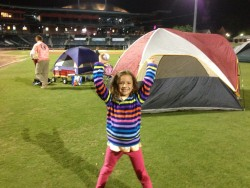 2013 Timucuan Suns Game and Outfield Campout